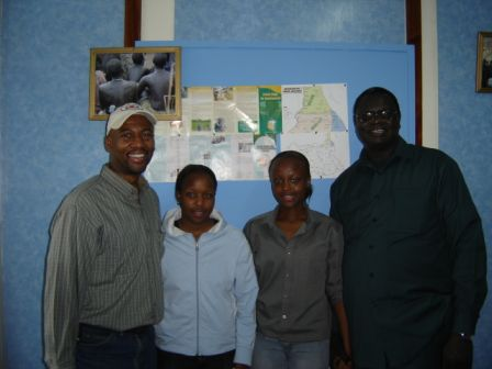 Meeting with a South Sudan local NGO