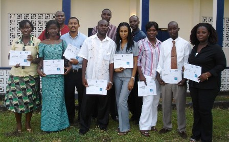 Accpac accounting training in Liberia